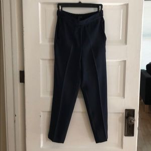 Navy J crew pull-on trousers